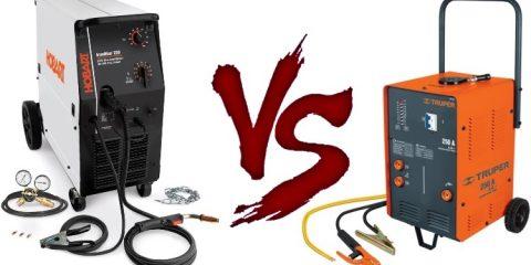 MIG vs Stick welding