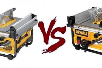 DeWalt DW745 vs DWE7480