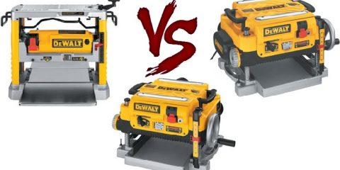 DW734 vs. DW735 vs. DW735X