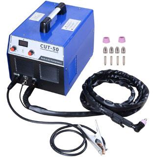 S7 50 Amp Built-In Air Compressor Plasma Cutter