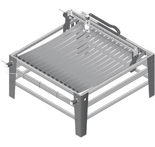 Firebird 48-L CNC Plasma Table