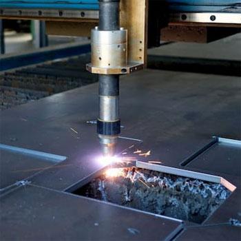 Plasma cutter operation method
