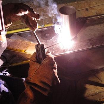 Temperature matters in welding